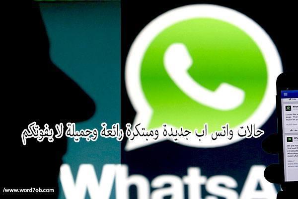 صورة شعار تطبيق الواتس اب الشهير مع صورة شخص مظلل