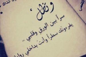 كلام جميل في الحب خواطر رومانسية راقية جداً