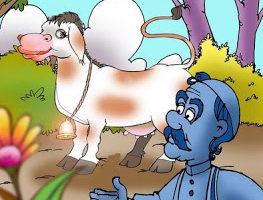 قصص قصيرة مضحكة قصة جحا والعجل الصغير قصة طريفة وجميلة