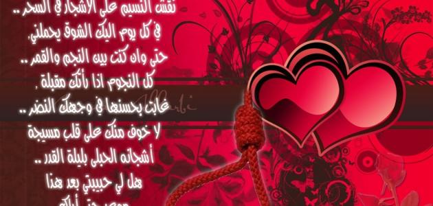 اشعار عن الحب والعشق والغرام