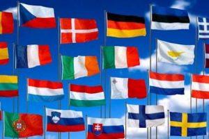 دول الاتحاد الاوروبي وتاريخ الاتحاد الاوروبي والعلم والشعار والعملة الخاصة به