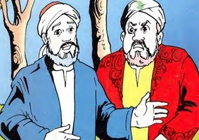 قصة للاطفال قصة السلطان والعم حمدان حكاية مسلية