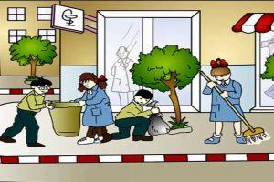 موضوع تعبير عن النظافة فى مفهومها الشخصى والعام