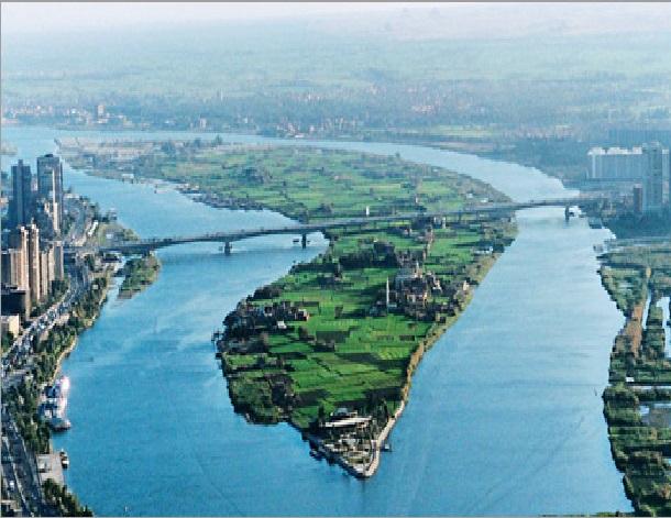 موضوع عن نهر النيل