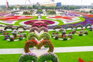 حديقة الزهور في دبي المرشحة لدخول موسوعة جينيس