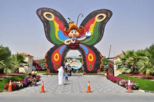 حديقة الفراشات في دبي والانشطة التي يمكن الاستمتاع بها داخل الحديقة
