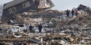 صورة تأثير زلزال شديد