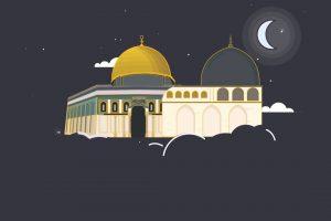 قصص اسلامية واقعية للأطفال رحلة الاسراء والمعراج مكتوبة بشكل مبسط