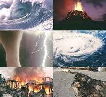 الكوارث الطبيعية واسبابها وانواعها وتأثيرها علي المجتمع