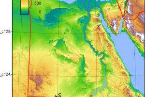 معلومات جغرافيه عن مصر التقسيم الجغرافي وتضاريسها ومناخها