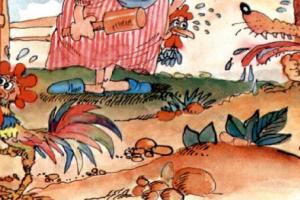 قصص ذكاء مضحكة قصة الثعلب المكار و السيدة العجوز قصة طريفة للأطفال