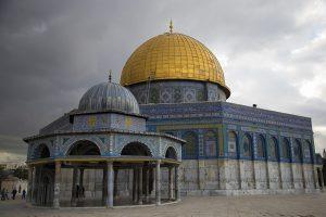 قبة الصخرة المسجد الذهبي ومسجد صخرة المعراج