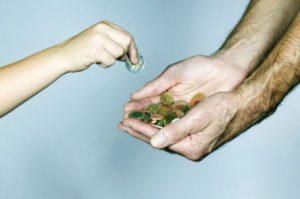 العطاء واهميته للبشريه