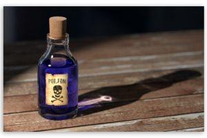 وسائل الوقايه من اخطار السموم القاتله وانواعها ومصادرها