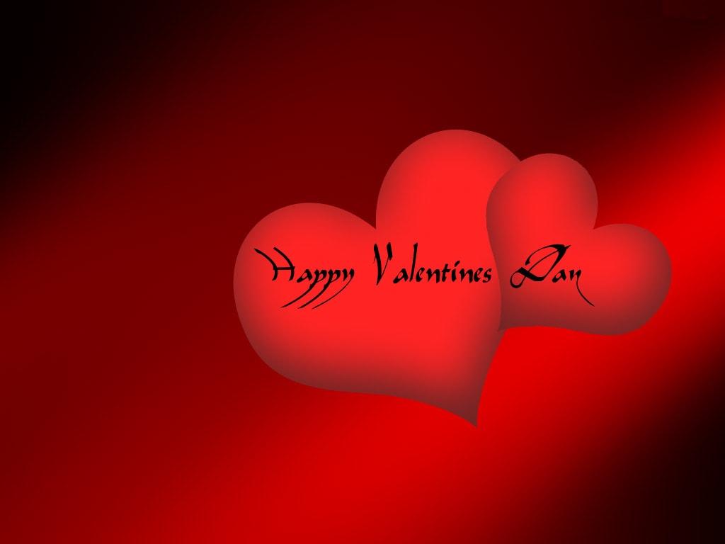 قلوب حمراء رمز الحب