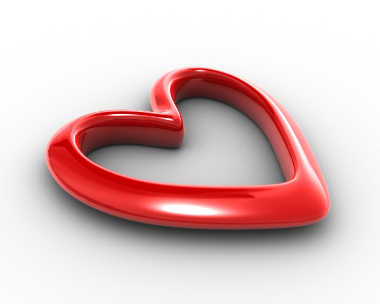 قلب أحمر رمز الحب