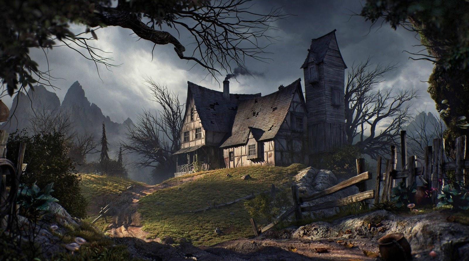 قصص حقيقية مرعبة قصة البيت المسكون قصة مخيفة جدا تحبس الأنفاس