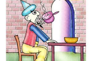 قصة جحا والحساء الساخن قصة كوميدية مضحكة جداً من نوادر جحا