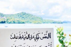 شعر الامام علي من اجمل القصائد الدينية الرائعة قصيدة النفس تبكي علي الدنيا
