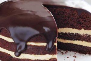 طريقة عمل الجاتوه بالشوكولاته وبالفانيلا وبالفواكة في المنزل بخطوات سهلة وسريعة