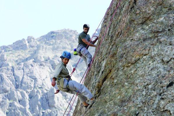 تسلق الجبال