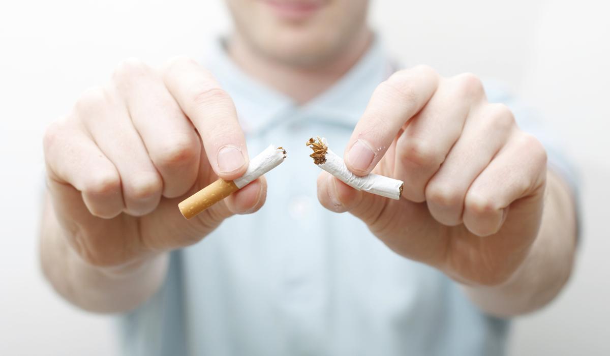 موضوع عن التدخين
