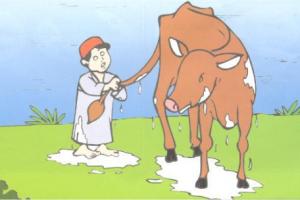قصص قصيرة للاطفال مكتوبة قصة ذيل البقرة مسلية جداً قبل النوم