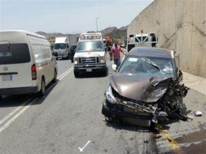 اضرار الحوادث المروريه.