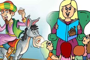 قصة جحا وحماره الضائع قصة خيالية طريفة ومسلية