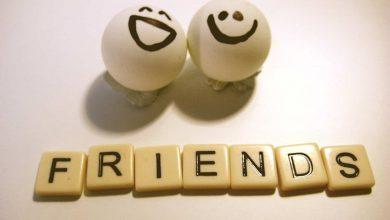 كلمات عن الاصدقاء