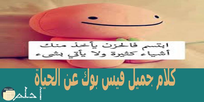 كلام جميل فيس بوك عن الحياة