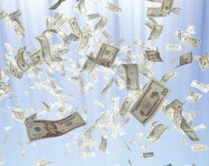 حلم النقود الورقية