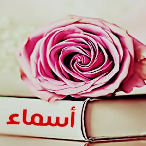 شعر حب باسم اسماء