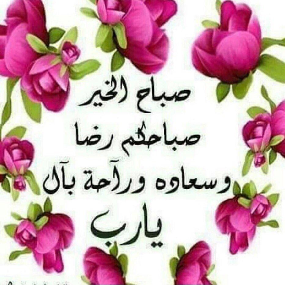 صباحكم رضا