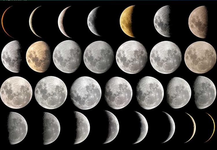 التقويم الهجري مرتبط بولادة القمر