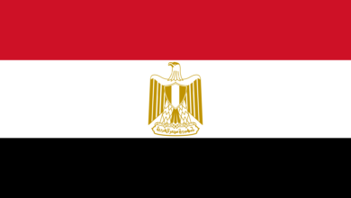 علم جمهورية مصر العربية
