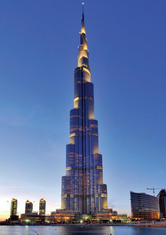 برج خليفة اطول برج في العالم