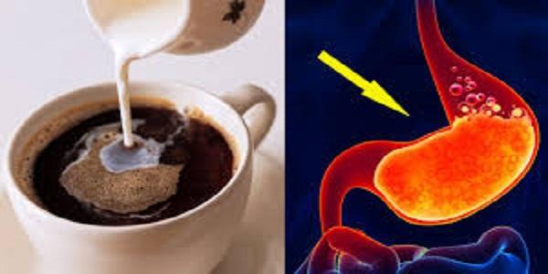 يؤدي الافراط في شرب القهوة الى الاصابة بالحموضة و حرقة المعدة