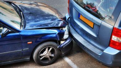 حادث سيارة في المنام