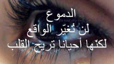 الدموع لن تغير الواقع