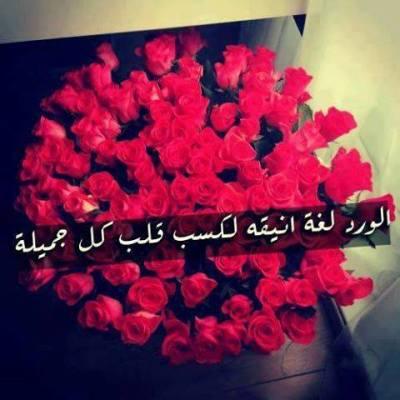 الورد رمز الحب