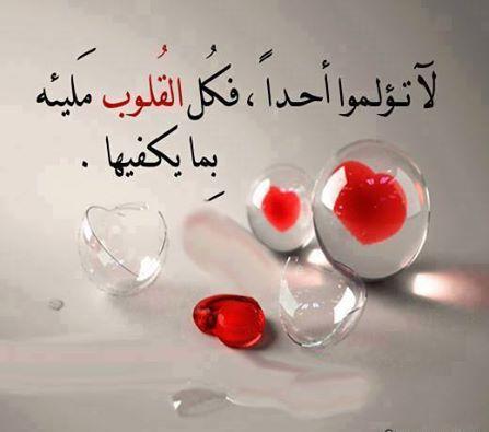 كل قلب يحمل ما يكفي من الهم