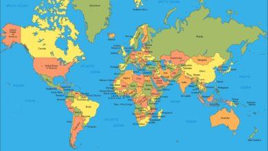 اهمية الخريطة