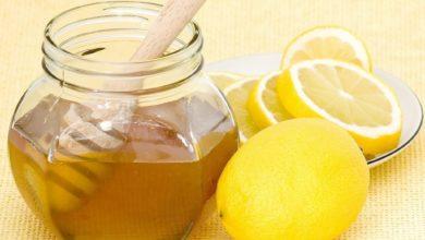 وصفات العسل بالليمون