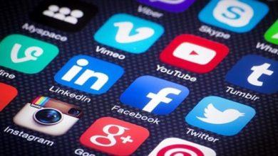 صورة عن تطبيقات التواصل الإجتماعي