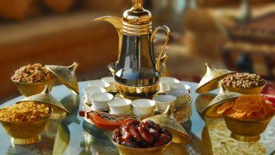 مائدة الإفطار في رمضان