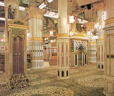 فضل الصلاة في الروضة و آداب زيارة مسجد رسول الله عليه الصلاة و السلام