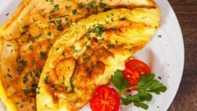 بيض مقلي اومليت