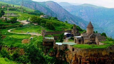 أين تقع أرمينيا