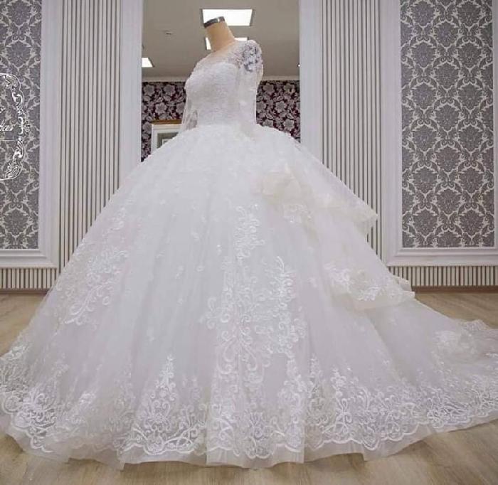 فستان زفاف باربي